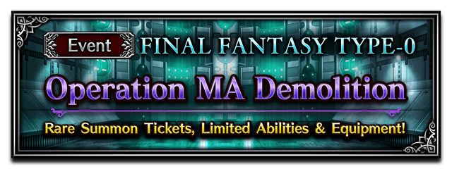 Operation MA Demolition (Brave Exvius)