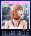FFXIII-2 Steam Card Valhalla