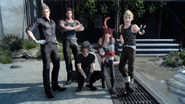 Photo Op at Perpetouss Keep from FFXV