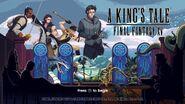 A King's Tale FFXV title screen