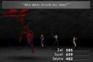 Diablos awakened from FFVIII Remastered