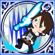 FFAB Rough Divide - Squall Legend SSR