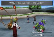 Garden Faculty summon monsters from FFVIII Remastered
