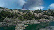 Maidenwater riverside from FFXV