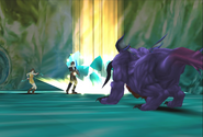 Behemoth uses Thundaga from FFVIII Remastered