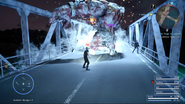 Blizzaga on a Red Giant from FFXV