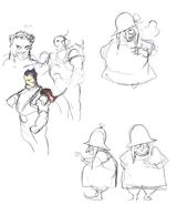 FFIII Unei Amano Sketch