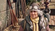 Mireille speaks to Damon from Final Fantasy VII Remake