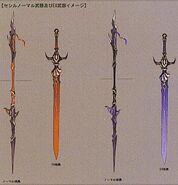 Cecil's weapon dissidia