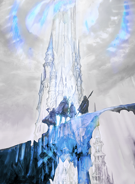 The Crystal Tower.