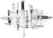 FFVI Daggers Artwork