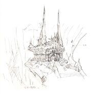 Castle Zvahl FFXI Art 1