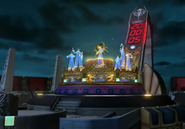 Deling City Carousel Clock rises from FFVIII Remastered
