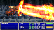 FF4PSP Enemy Ability Thermal Rays