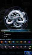 FFBE White Dragon Analyze