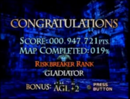 Vagrant Story Battle Results