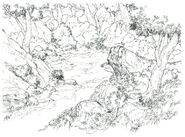 Chocobo Forest FF8 Art 5