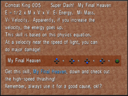 Combat King 005 My Final Heaven from FFVIII Remastered