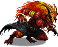 FFBE Ifrit Sprite