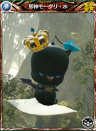 Mobius Dark Moogle Water