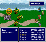 FFIV SNES Dummy (Dispel)