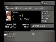 FFVIII Status Menu 8