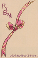 Mog's ribbon