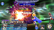 DFFOO Krile HP Attack