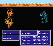 FFIII NES Kick