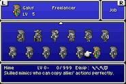 FFVA Galuf Replaced Mime Sprite