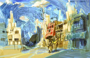 Final Fantasy Unlimited preliminary illustration 9