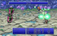 Firion using Cure XVI from FFII Pixel Remaster