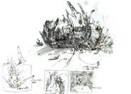 Gongaga Reactor FFVII Sketch