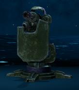 Sentry Gun Prototype from FFVII Remake Enemy Intel