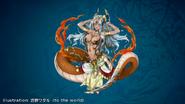 FFLII Lamia Queen God Alt1