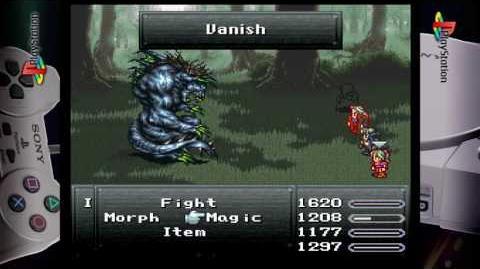 Final Fantasy VI Intangir Vanish Doom Kill