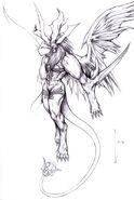 Griever FFVIII Sketch