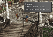 Laguna is the monster hunter of Winhill from FFVIII R