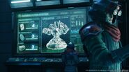 Airbuster on a console from FFVII Remake