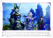 DFFNT Calendar WoL Cecil Noctis