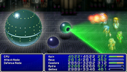 FF4PSP TAY Enemy Ability Laser Barrage