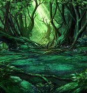 FFBE Mossy Woods BG