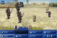 FFVI PC Soldier x3 Battle