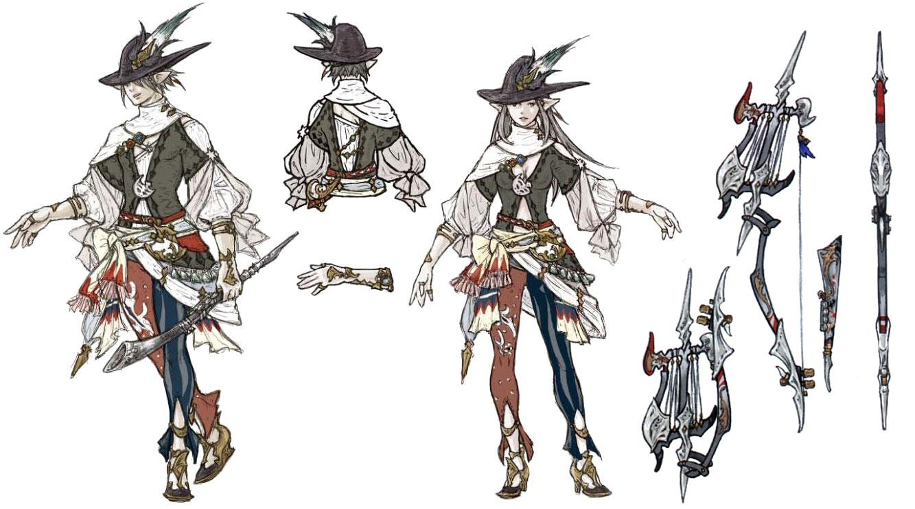 Category Final Fantasy Xiv Job Artwork Final Fantasy Wiki Fandom