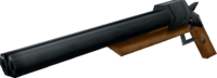 Irvine's shotgun, the Valiant.