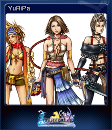 FFXX2 HD Steam Card YuRiPa.png