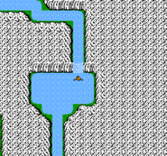 FF NES Waterfall Cavern WM