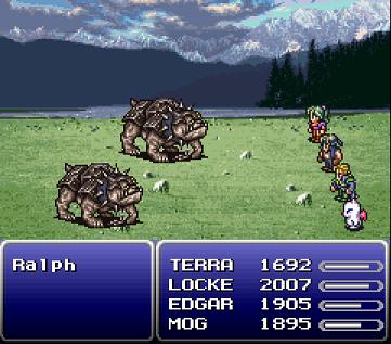 Сражение (Final Fantasy VI)