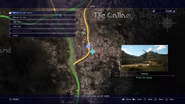 Photo op Quarry map in FFXV
