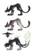 Wolf FFXIV Art